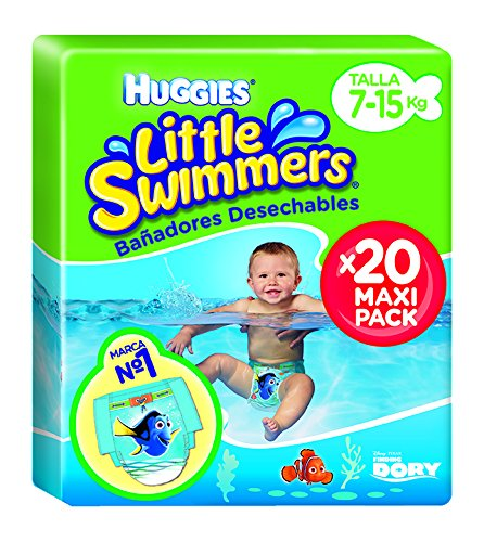 Huggies - Bañadores desechables, talla 3-4 , 20 unidades