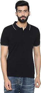 Men's Polo- Neck T- Shirt for Summer - Black