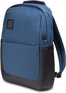 Moleskine, ID Collection, Mochila para Portátil, Tableta y iPad de Hasta 13'', Dimensiones 32 x 15.2 x 44 cm, Color Azul Boreal