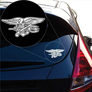 Yoonek Graphics US Navy Seal Decal Sticker for Car Window, Laptop and More # 972 (8