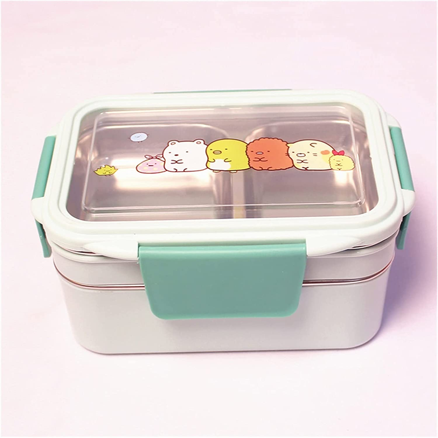 sold out Bento box supreme Stainless Steel Insulated Double-layer Square Student