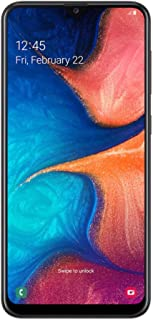 Samsung Galaxy A20 32GB 4G Smartphone (Australian Version), Black