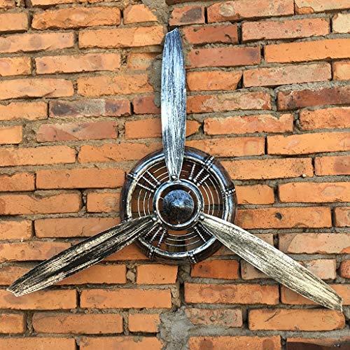 ZYFBG Wanddekoration Retro Industrie Wind Flugzeug Propeller Schmiedeeisen Wanddekoration Wand hängen Bar net Kaffee Anhänger Wanddekoration wandtattoo (Farbe : D)