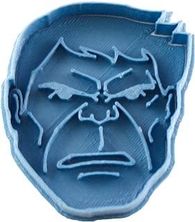 Cuticuter Marvel Hulk Cookie Cutter, Blue