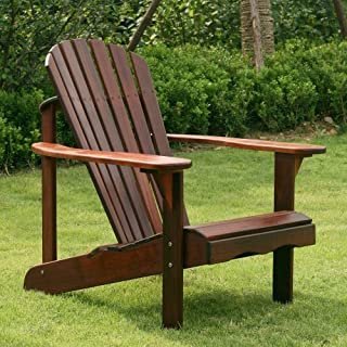 Belham Living Richmond Curveback Shorea Deluxe Adirondack Chair - RCA011 by Belham Living