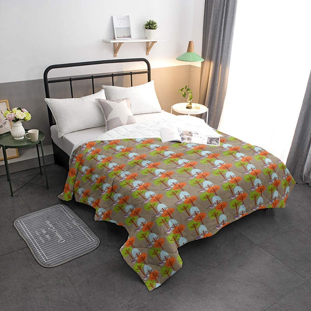 Arts Boston Mall Language Cool Summer Bedspread Size Woods Free shipping New Quilt Collec Twin