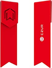 CZUR Metal Bookmarks - Unique Gift Bookmarks for Women and Men Made of Aeronautical Aluminum for Long-Lasting Use 1 Piece (Candy Apple Red)