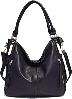 Women Handbags Hobo Shoulder Bags - AB Earth Large Designer Ladies PU Leather Purse and Bag,H004
