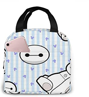 Lunch Bag Baymax Insulated Lunch Box For Men & Women Meal Prep Lunch Tote Bag