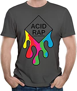 Men's Chance The Rapper Acid Rap Cotton Tshirt DeepHeather