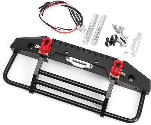 LyGuy Frontsto ange mit Licht für 1 10 RC Crawler Axial SCX10 90046 Traxxas TRX-4 TRX4 Frontsto ange für SCX10