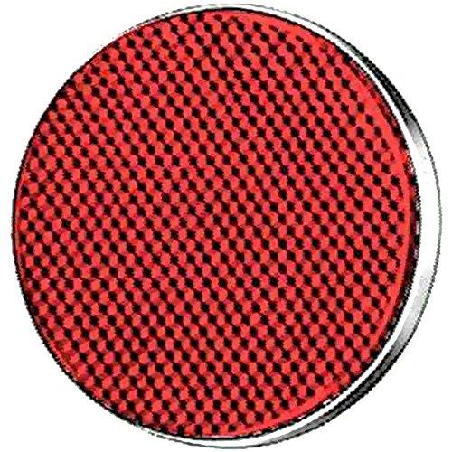 HELLA 8RA 002 016-111 Rückstrahler - rot - rund - Anbau/geschraubt - hinten