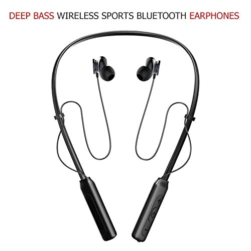 62a0fdcbf19 Chevron Deep Bass Wireless Sports Bluetooth Earphones with Stereo Sound and  Handsfree Mic(Black)