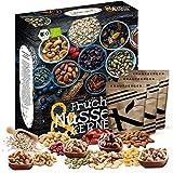 Frutas, nueces, granos Calendario de Adviento 2020 en calidad orgánica I 24 deliciosas sorpresas gourmet I Idea de regalo para deportistas y personas conscientes de la salud