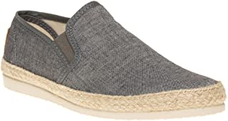SOLE Mens Buckly Espadrilles Shoes Grey