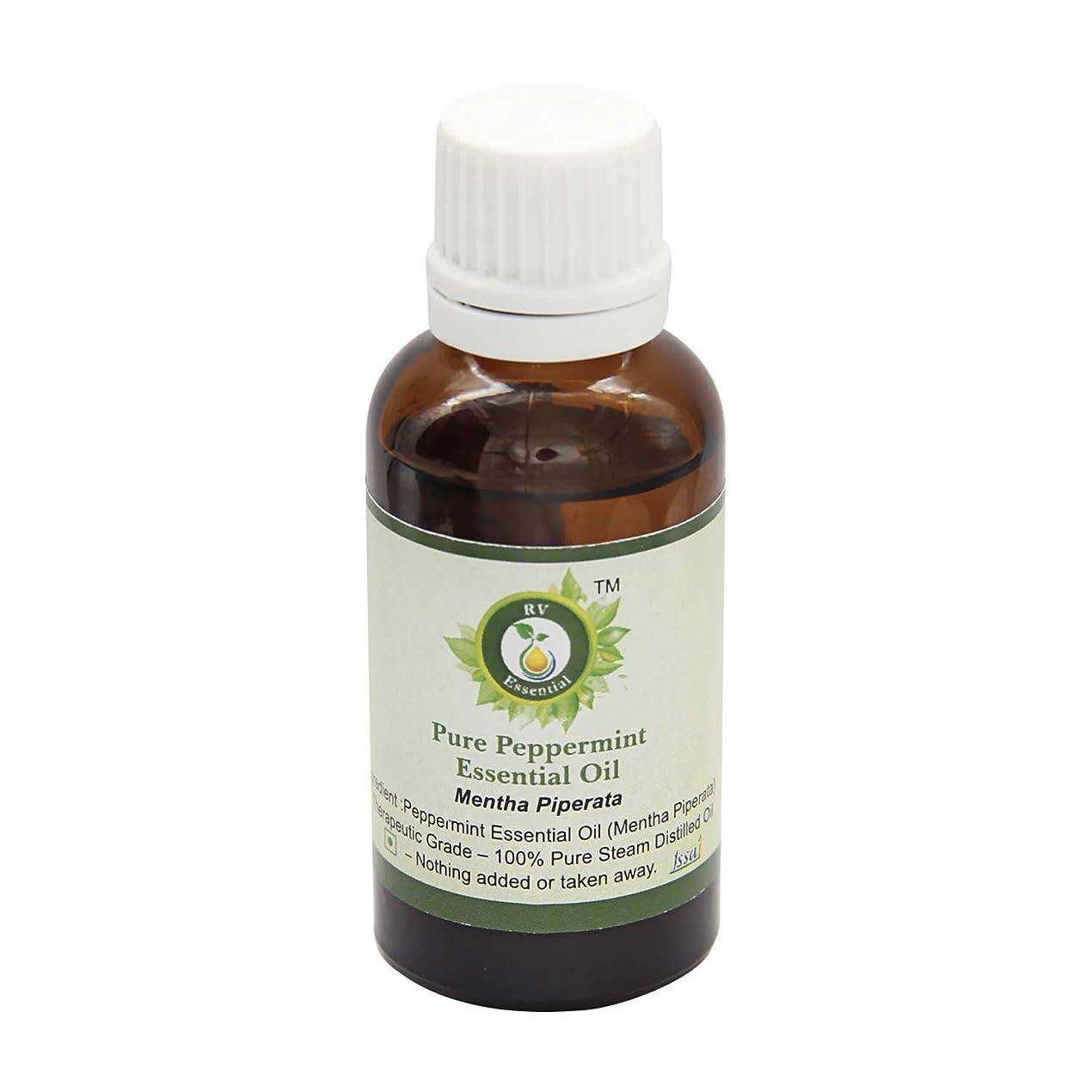 平和的後実現可能R V Essential 純粋なペパーミントエッセンシャルオイル630ml (21oz)- Mentha Piperata (100%純粋&天然スチームDistilled) Pure Peppermint Essential Oil