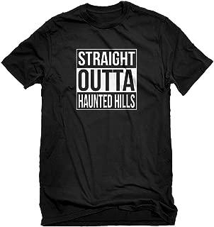 Mens Straight Outta Haunted Hills T-Shirt