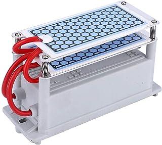 Houkiper Purificador De Agua Y Aire con Ozono Generador De Ozono Ozonizador 600mg H Generador De Ozono para Eliminar Olores Aceite Vegetal Carne Purificar Fresco Aire Agua Casa