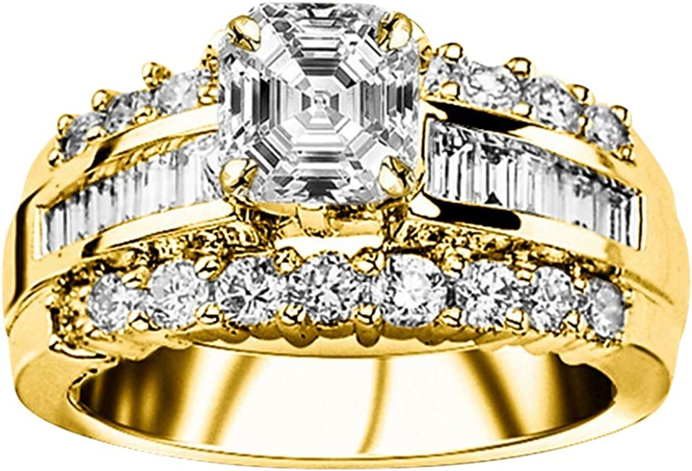 Cheap sale 1.75 Ctw New product! New type 14K White Gold Designer Channel Baguette Round Diamond