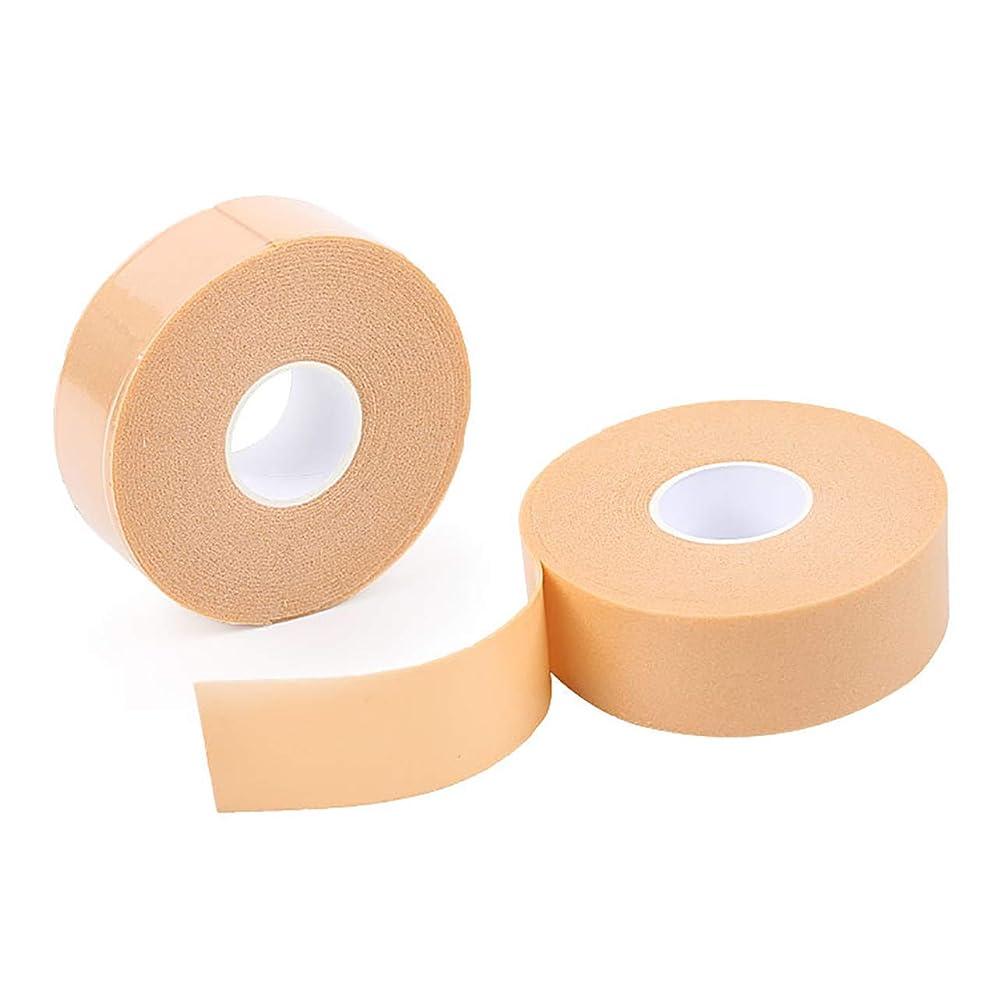 怖いゴム全体HAMILO 保護テープ 靴ズレ かかと 足用パッド 傷テープ 厚手タイプ 手で切れる 滑り止め (4個セット)