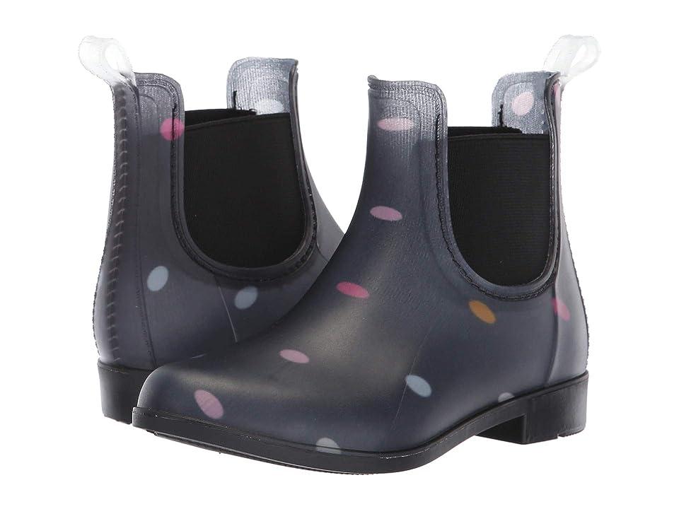 Joules Kids Rockinghan PVC Chelsea Boot (Toddler/Little Kid/Big Kid) (Navy Multi Dot) Girls Shoes