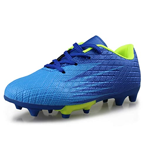 New Kids Outdoor Cleats Turf Soccer Shoes Athletic Football Boots Hawkwell