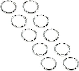 Best 6mm hoop earrings silver Reviews