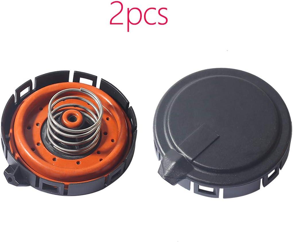 CENTAURUS Ultra-Cheap Deals 2pcs PCV Valve Ventilation Positive 2021 new 11127547 Crankcase