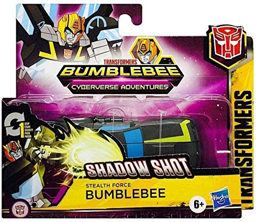Hasbro- Transformers Cyberverse One Step Shadow Bumblebee (E7074ES0)