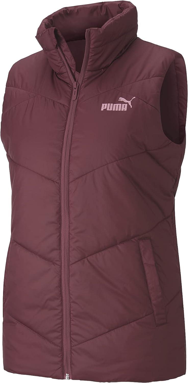 PUMA Women's Essentials Direct sale of 5 popular manufacturer Padded Vest