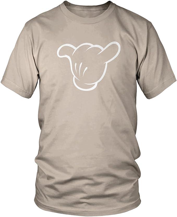 HANG LOOSE CARTOON Mains faisant signe Drôle Humour T-shirt à manches longues