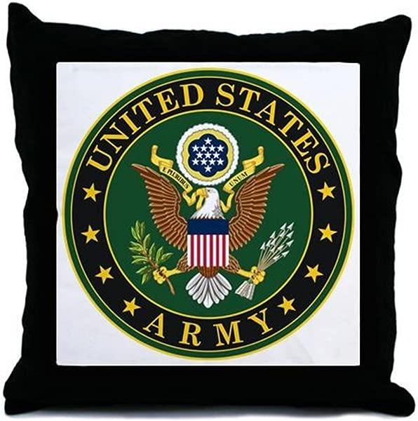 CafePress U S Army Symbol Decor Throw Pillow 18 X18