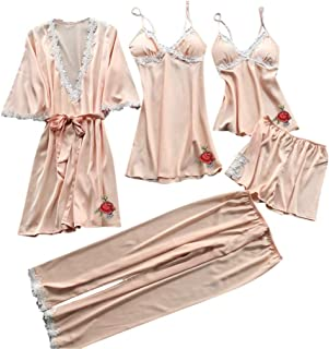 Huazi2 Women Corset Lace Underwire Racy Muslin Sleepwear Underwear Tops+Briefs