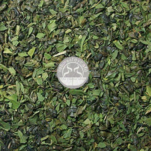 SABOREATE Y CAFE THE FLAVOUR SHOP Té Verde Moruno Le Touareg Gunpowder en Hoja Hebra Granel Infusión Natural 1 kilogramo