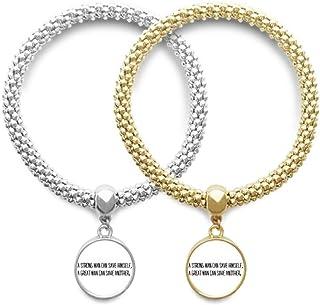 قوي أو رجل كبير وصف عاشق سوار الإسورة قلادة مجوهرات زوجين سلسلة