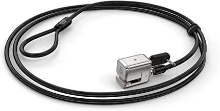 Kensington 62055 Keyed Cable Lock for Surface Pro, 6 ft Carbon Steel Cable, 2 Keys