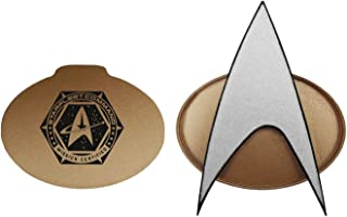 Star Trek Next Generation 2021 Bluetooth Communicator Badge - TNG Bluetooth Combadge with Chirp Sound Effects, Microphone...