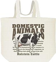 エムワイディエス(MYDS) ホルスタイン(牛)<飼育動物・家畜/キャンバス L トートバッグ