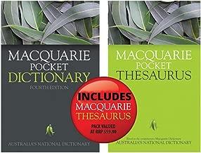 Macquarie Pocket Dictionary 4E + Bonus Pocket Thesaurus
