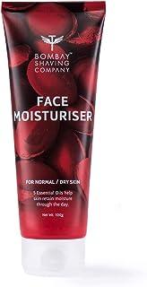 Bombay Shaving Company Face Moisturiser with 5 Essential Oils, Non-Sticky Formula for skin repair, 100g