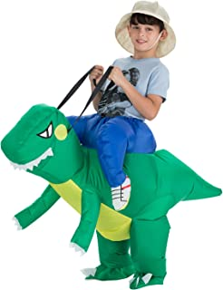 TOLOCO Inflatable Dinosaur and Unicorn Costume | Inflatable T-REX Costumes for Kids| Halloween Costume | Blow Up Costume