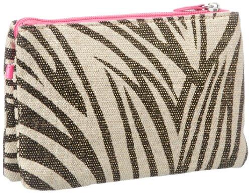 Friis & Company Damen Pilot Small Shoulderbag Schultertaschen, Mehrfarbig (Zebra), 19x13x6 cm
