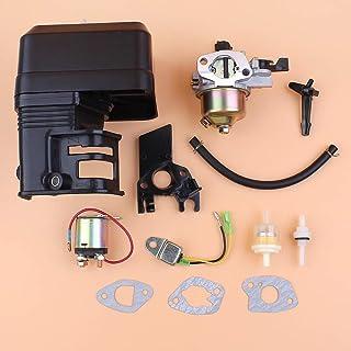 Tiempo Beixi Sensor de Aceite del carburador relé de Arranque solenoide Alerta Kit for Honda GX160 GX200 168F 5.5 / Gasolina 6.5HP 2 kW Motor Motor Generador