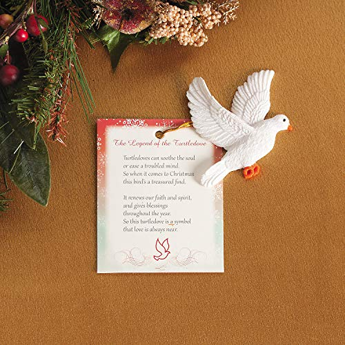 Fun Express Legend of The Turtle Dove Ornament with Card for Christmas (Set of 12)