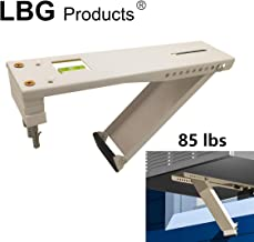 LBG Products Light Duty Universal Beige Window Air Conditioner, Designed 5,000 to 12,000 BTU Sized Units, AC Support Bracket (85lbs)