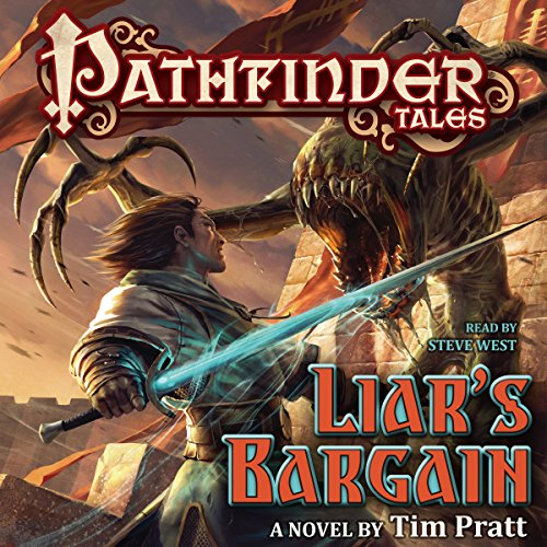 Pathfinder Tales: Liar's Bargain audiobook cover art