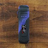 ModShield for Smok RPM40 Silicone Case ByJojo RPM 40 Protective Cover Wrap Skin Shield (Purple/Black)