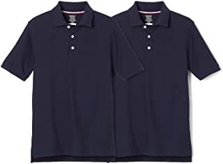 French Toast Boys 2-Pack Short Sleeve Pique Polo Shirt School Uniform