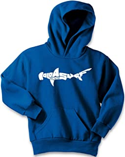 Koloa Shark Logo Youth Hoodies-Pullover Hooded Sweatshirts in 24 Colors