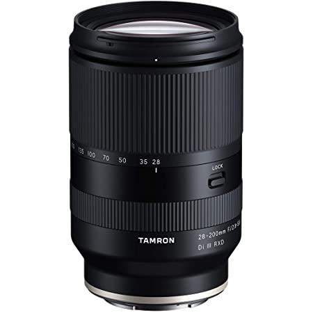 Tamron 28-200 F/2.8-5.6 Di III RXD for Sony Mirrorless Full Frame/APS-C E-Mount, Model Number: AFA071S700, Black